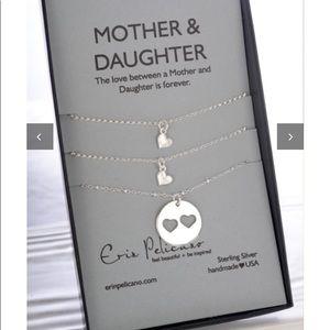Erin Pelicano Mother & Daughter Necklace